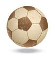soccer-vintage vector image vector image