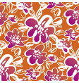 abstract bright summer flower seamless pattern vector image vector image