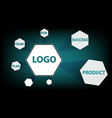 any business concept is schematic vector image
