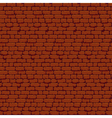 Pixel Brick Wall vector image vector image