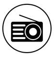 radio 02 vector image vector image