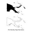 1135 port morespapua new guinea vector image vector image