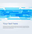 abstract rectangle background in blue color vector image