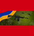 armenia military force power national armed vector image vector image