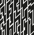 black tribal seamless pattern vector image vector image