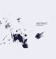 grunge texture with scratches and spots abstract vector image vector image