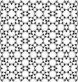 Monochrome seamless ethnic pattern vector image