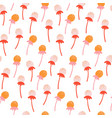 cute seamless floral pattern with hand drawn vector image vector image