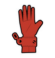 hand with handcuffs icon vector image