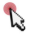 Mouse arrow cursor vector image vector image