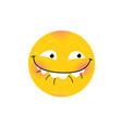smiley internet meme emotional smiley for vector image vector image