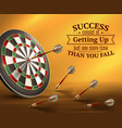 success quotes vector image vector image
