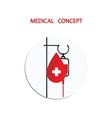 intravenous fluid infusion apparatus - dropper vector image