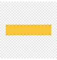 lasagne pasta icon realistic style vector image vector image