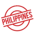 Philippines rubber stamp vector image