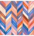 seamless color abstract zigzag background vector image vector image