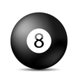 Snooker 8 Ball vector image