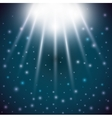 stars light blue sky magic surprise icon vector image
