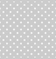 tile polka dots grey pattern vector image vector image