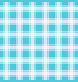 turquoise seamless pattern gingham background vector image vector image