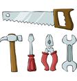 tools symbol vector image