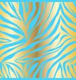 animal print zebra ornament vector image vector image