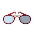 aviator sunglasses icon image vector image vector image