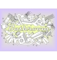 Bathroom coloring book vector image vector image
