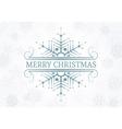 Decorative Christmas design element vector image vector image