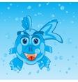 Fish in water vector image vector image
