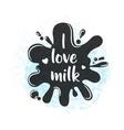 fresh dairy milk background vector image vector image