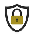 icon security information data protection privacy vector image vector image