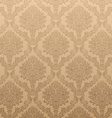Light Brown Floral Background vector image vector image