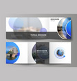 the minimal editable layout square vector image vector image