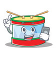 with phone toy drum character cartoon vector image vector image