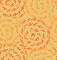 autumn leves seamless pattern vector image vector image