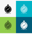 compass direction navigation gps location icon vector image vector image
