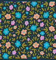 flower paper nature textile print seamless pattern vector image vector image