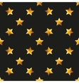 Gold Star Universal seamless patterns vector image vector image