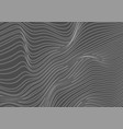 grey dotted lines refraction 3d waves abstract vector image