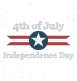 Independence Day 4th of July Holiday Background vector image vector image