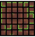 Pixel Art Tiles vector image