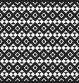 seamless stylish texture with rhombus and triangle vector image vector image