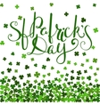 St Patricks day lettering vector image vector image