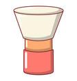 brush powder icon cartoon style vector image