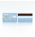 Bank card vector image