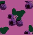 blackberry seamless pattern vector image vector image