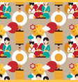 bright pattern dedicated to the chinese festival vector image vector image