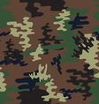Camouflage seamless patternWoodland style vector image