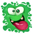 funny cute crazy monster characters halloween vector image vector image